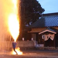 豊川手筒花火