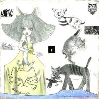 宇野亞喜良の個展『綺想曲』が9月28日から東京・銀座三越7階ギャラリーで開催