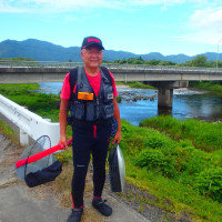 新潟県村上市 三面川、三日間連続のアユ釣り 3