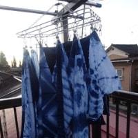 藍染の暖簾 完成!!