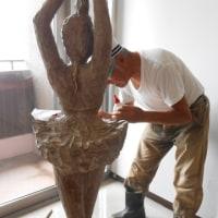 木彫の修復