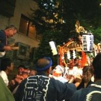 熊野さんの祭りでい!。飯五の神輿。
