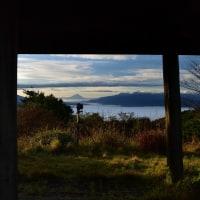 久しぶりに雲海に浮かぶ富士山