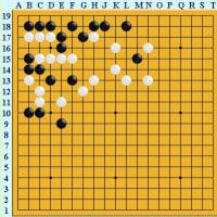 囲碁死活1555 囲碁発陽論