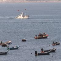 威海の漁師