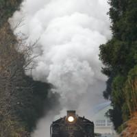 三川駅上り発車(磐西クリトレ)