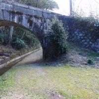 三岐鉄道 ねじり橋です。
