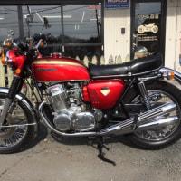 お客様のオートバイ・ホンダCB750&モンキー