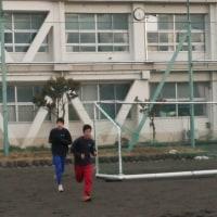 2/24(金)朝練習ランニング