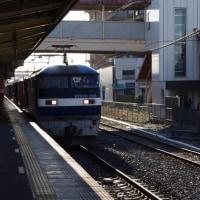 EF210-158号機@吹上駅