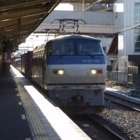 EF66-125号機@吹上駅