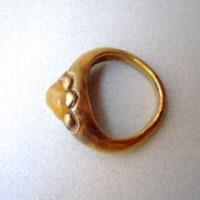 古代金製指輪
