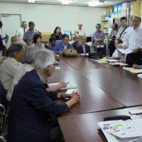 県内4野党に要請行動をしました。
