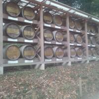 滞在型家庭菜園:奉供された葡萄酒樽
