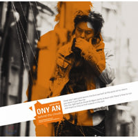 K-POP TONY AN Special Album + ポスター ♪