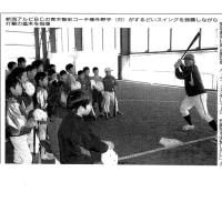 「新潟アルビレックスBC」による野球教室の記事が掲載されました!
