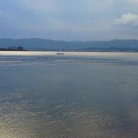 近江八幡と湖岸道路
