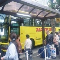 どうしても乗って見たかった、はとバス!!!
