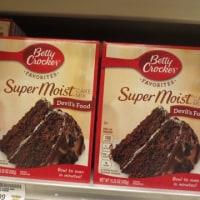 ケーキミックスを買う。