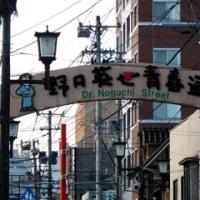 散策!福島(8) 野口英世青春通りを歩いて英世の初恋の人を知る