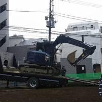 重機運搬車!