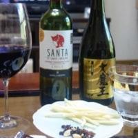 『花金』・・・焼酎とワイン。 そして 『最後の審判』・・・『裁き主は席に着き、巻物が繰り広げられた。』