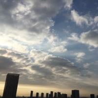4/24の朝の空