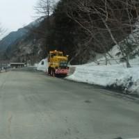 2017/04/17(月):「上高地公園線」冬期閉鎖解除です。