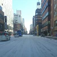 少し冷えて来ました、札幌。