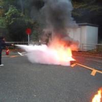 消防訓練&救急法講習の防災デイでした
