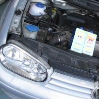 VW GOLF4 GTI,定期オイル交換です。