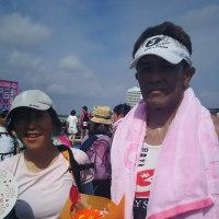 伊良湖トライアスロン大会の応援