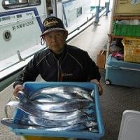12月12日タチウオ釣果