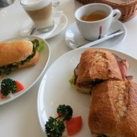 佐倉市立美術館、 『Cafe Buona  Giornata  (ヴォナ ジョルナータ) 』 のサンドイッチ