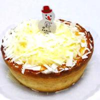 ホワイトラズベリーのチーズタルト