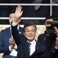 「両連盟の和合と親善はもちろん、南北の和解協力と朝鮮半島の平和にも多いに役立つだろう」