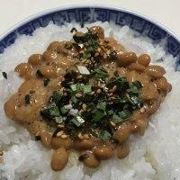 贅沢な納豆