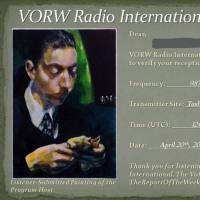 VORW Radio International-QSL