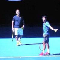 全豪オープンテニス2017 4回戦 錦織圭×R.フェデラー
