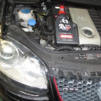 VW GOLF5/GTI エンジンオイル交換。