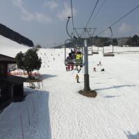 今シーズン最後のスキーにアップかんなべに!