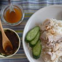 カオマンガイとココアシフォンケーキ