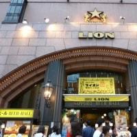 """銀座ライオン 七丁目店・・・""""むかしわかもの""""になれる場所。"""