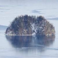 日本一寒い朝の摩周湖 Lake Mashu