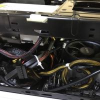 手元のデスクトップマシンを i7 から RYZEN 5 に入れ替えて,ちょこっと linux を動かしてみた