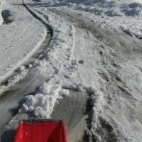 除雪×除雪×除雪(^_^;)