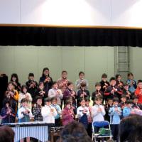 4年生のコンサート     妻木公民館