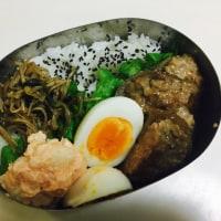 レンコン豚ひき肉バーグ弁当