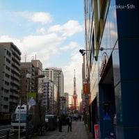 東京タワーのある風景 By空倶楽部