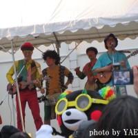 Love Samba DEES ライブ@くまモンファン感謝祭 西梅田スクエア